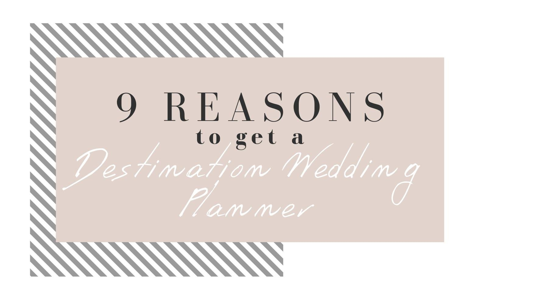 nine reasons to hire wedding planner for destination wedding blog wedding